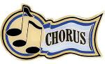 Chorus Music Award Pins