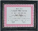 Leatherette Certificate Holder